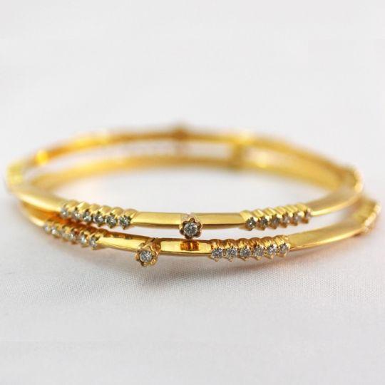 diamond bangles indian | 3582314-traditional-diamond-bangle.jpg