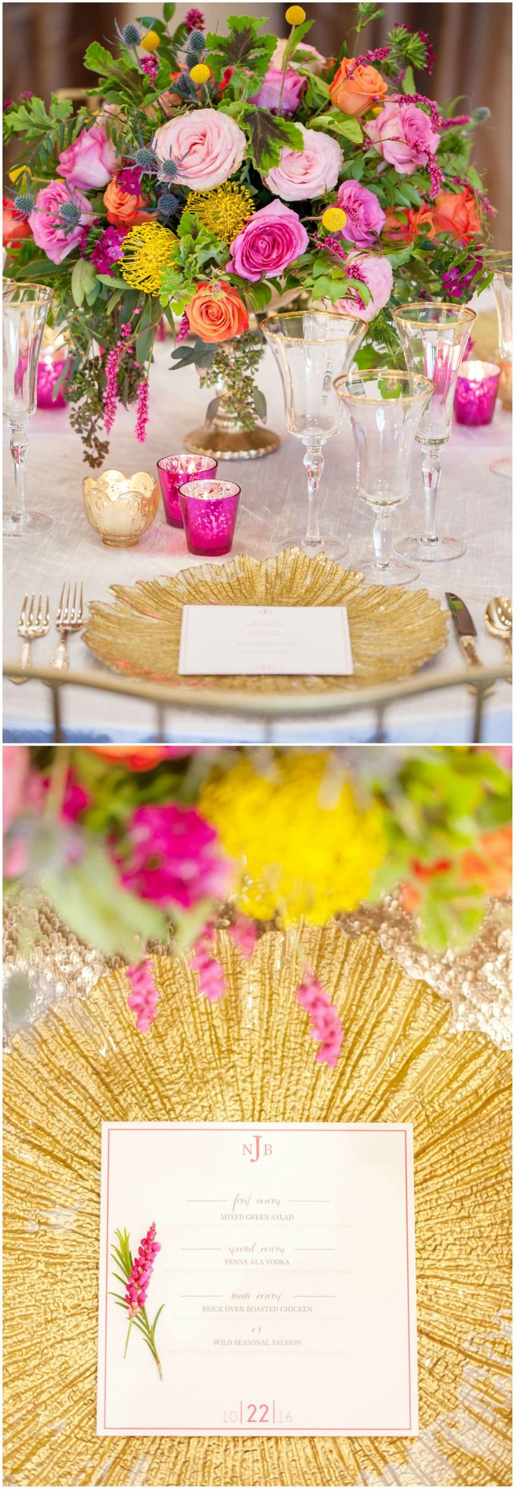 422 best Wedding Placesettings images on Pinterest Gold flatware