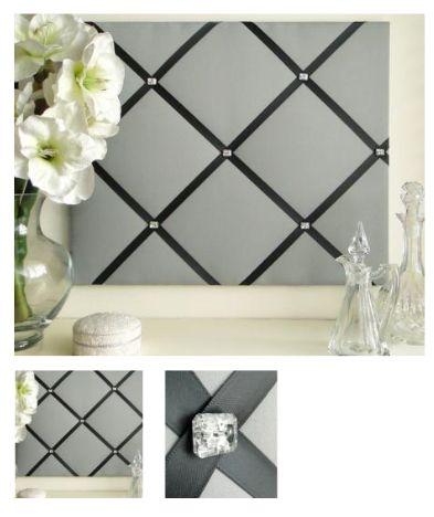 Fabric Noticeboard :: pretty display