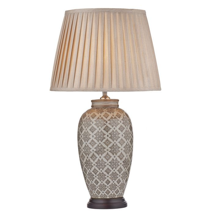 You'll love the Louise 38cm Table Lamp at Wayfair.co.uk - Great Deals on all Lighting  products with Free Shipping on most stuff, even the big stuff.