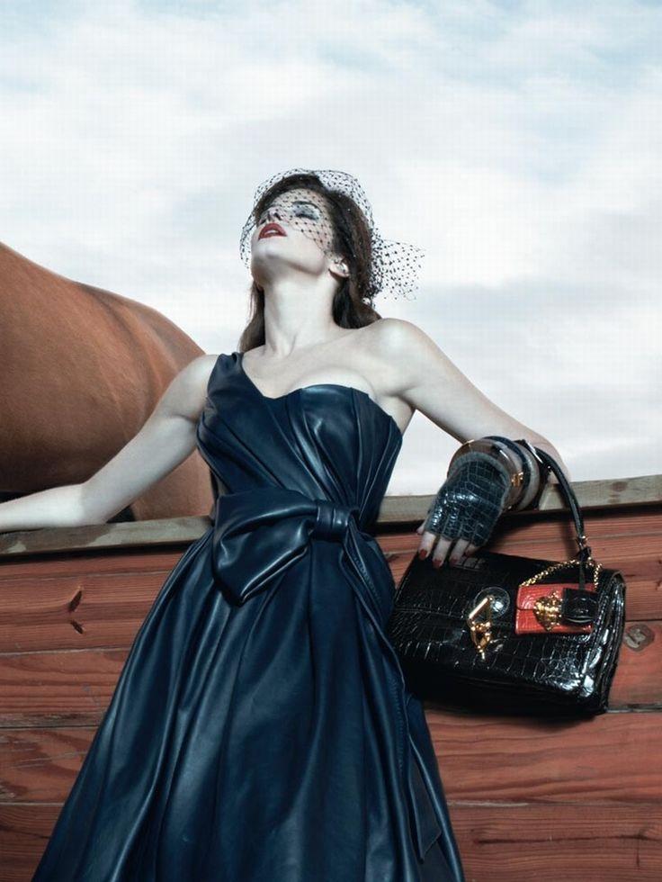 """ Stephanie Seymour by Steven Klein for Loewe F/W 2008 """