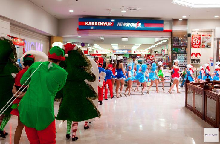 Karrinyup Shopping Centre Santa Arrival Parade 2016 @karrinyup