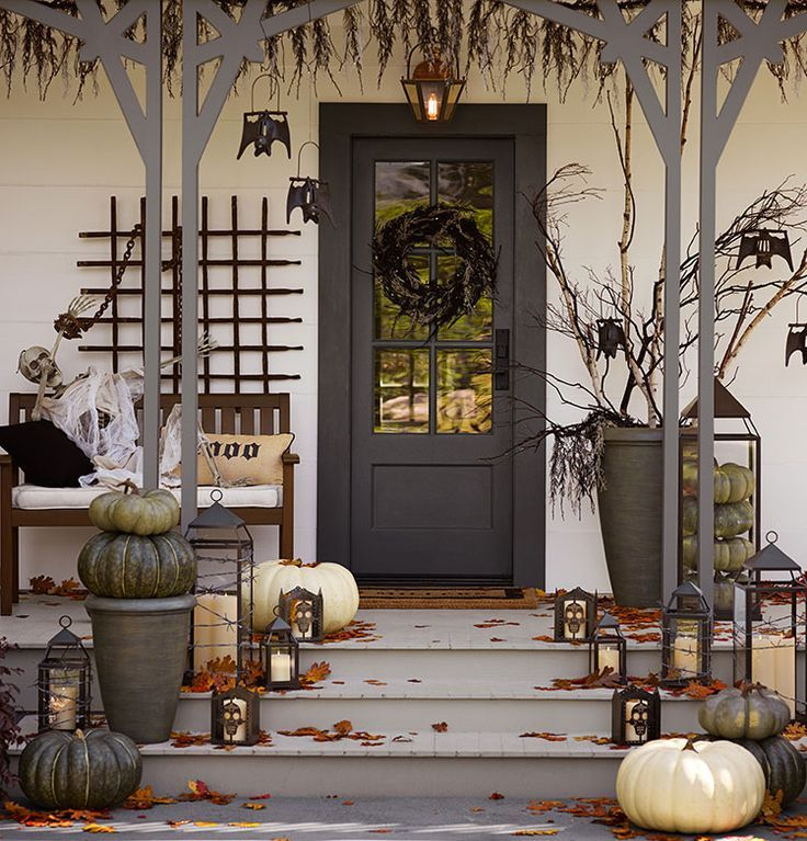 halloween porch ideas - Pottery Barn Halloween Decorations