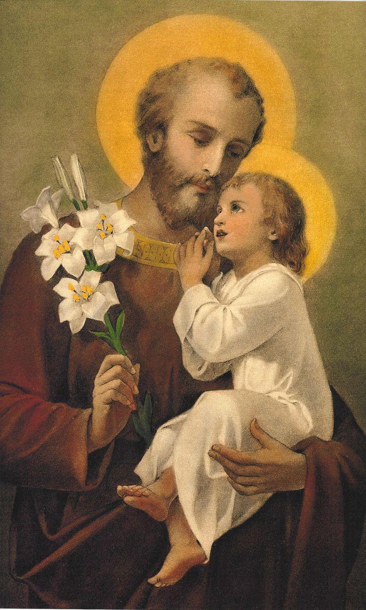 Rezarle a San José que no deja ningún pedido sin respuesta. http://forosdelavirgen.org/90379/novena-a-san-jose/