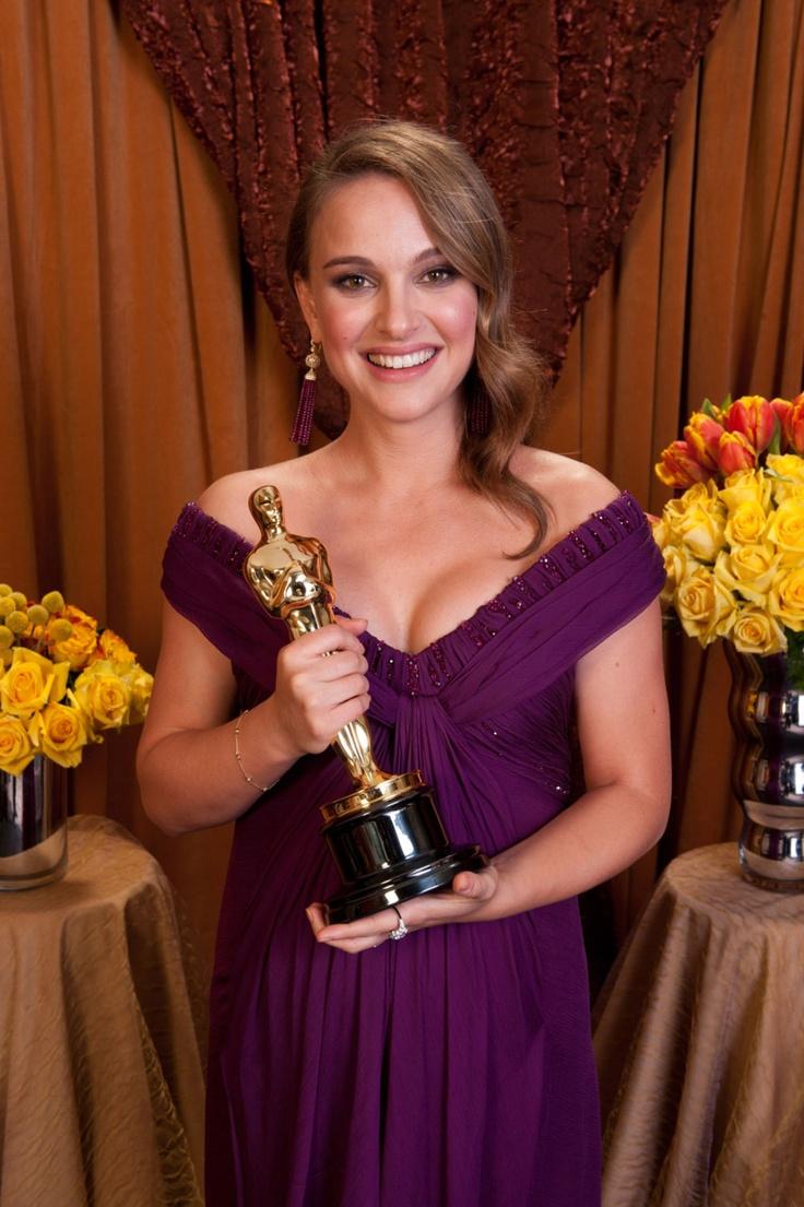 Natalie Portman Oscar Portrait
