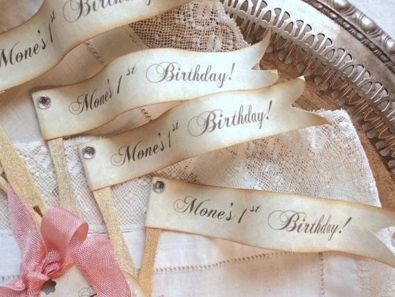 Birthday Flags. 12 Custom Personalized Flag by TheDreamPeddlery