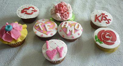Cupcakes para el día del amor y la amistad, aprende cómo hacerlos www.paulitas.com