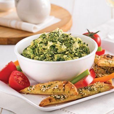Trempette aux épinards et artichauts au cari - Recettes - Cuisine et nutrition - Pratico Pratique