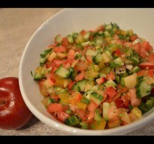 #Popular on our Roku channel this week: How to Make Red #Plum #Tomato & #Cucumber #Salsa - perfect for #superbowl #tailgating! #healthy #glutenfree  * Subscribe to Cooking With Kimberly: https://www.rokuguide.com/channels/cooking-kimberly #cwk