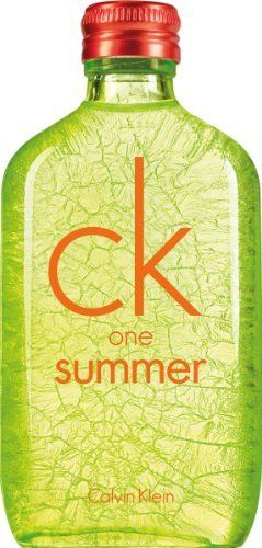 Calvin Klein One Summer Eau De Toilette Spray for Unisex, 3.4 Ounce by Calvin Klein. $35.53. Design House: Calvin Klein. Fragrance Notes: cucumber, cardamom, hedione, watermint, moss, musk, blonde woods, watermelon. Recommended Use: casual. Find all the sun's energy in this bottle. A unisex fragrance to share all summer.