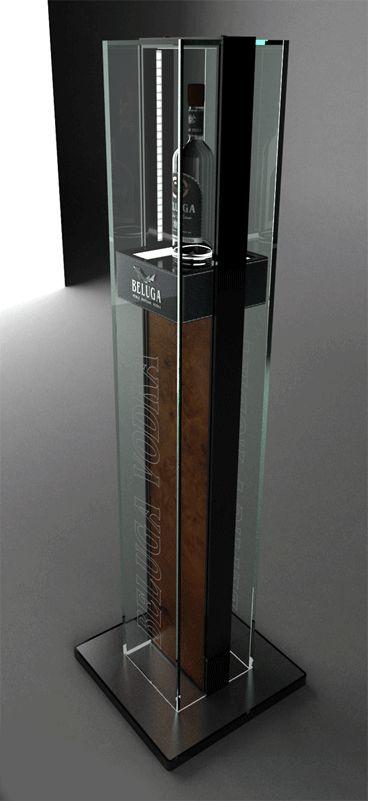 Напольный дисплей (стела) Белуга - Дисплеи - P.O.S.M - Projects - Design studio KLARUSdesign