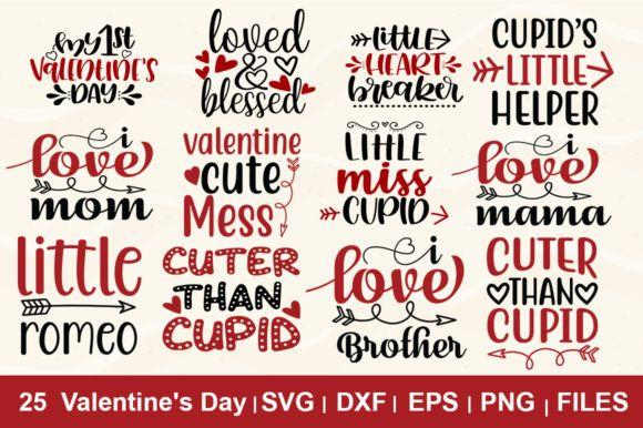 Download Free 25 Valentines Day Svg Bundle Graphic By Svgbundle Net Valentines Svg I Love Mommy Svg PSD Mockup Template