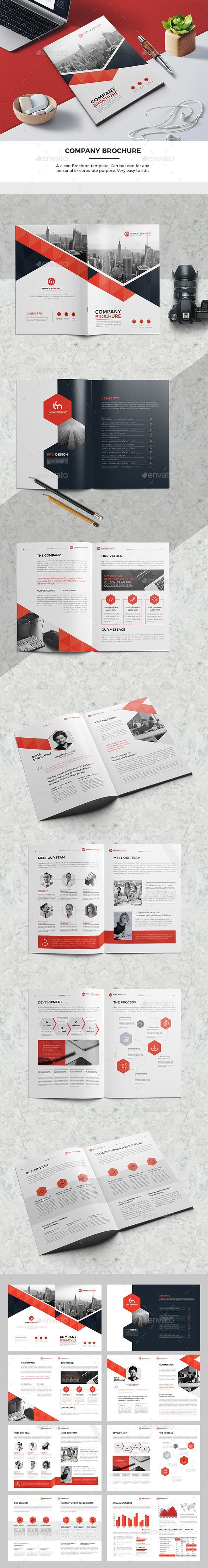 TM Company Brochure Template InDesign INDD