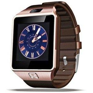 DZ09 Individual Smart SIM Watch Phone  -  COPPER COR   Câmara / Dialer / Monitoramento do sono / sedentário / Relembre