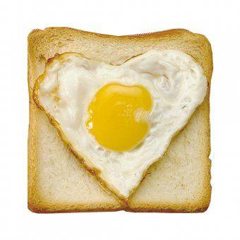 Spiegelei-Form Heart Egg Molder