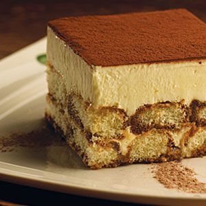 Tiramisu A Classic A Layer Of Creamy Custard Set On Top