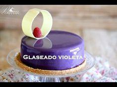 Glaseado violeta brillante - YouTube