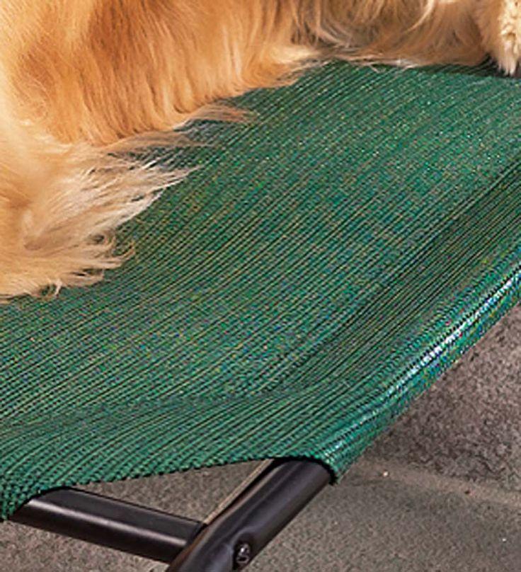 Large WeatherResistant Raised Mesh Pet Bed Replacement