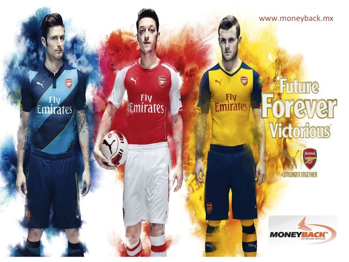 The Puma brand is a sponsor of the English football team Arsenal. A club founded more than a 100 years ago located in the north of London known as the Gunners, they have won the league a couple of times and have a record of 49 league matches unbeaten in the season of 2003. In Puma Mexico you can get our tax refund service. #moneyback  #taxrefund #travelmexico    La firma Puma es patrocinadora del equipo de fútbol inglés Arsenal. Un club con más de 100 años de formación del norte de Londres…
