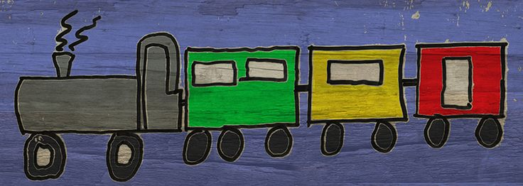 Train 280 mm x 130 mm