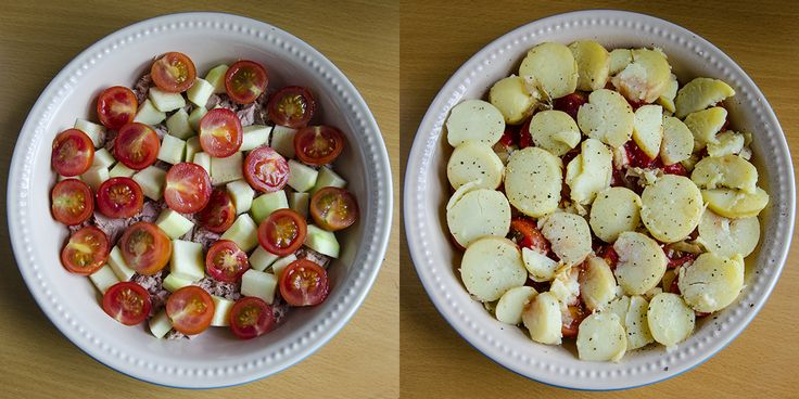 Tuna Tomato Layers