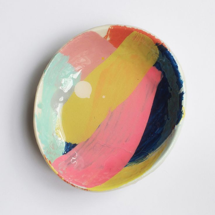 Add Some Color to Your Life with Unique Hand-painted Ceramics by Martinich and Carran: