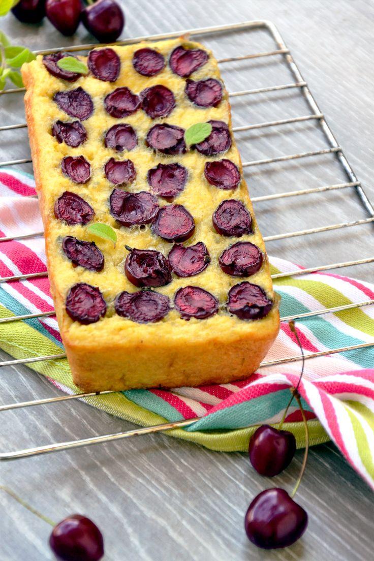 JAGLANE CIASTO CZERŚNIOWE  http://sokzycia.pl/jaglane-ciasto-z-czeresniami/  #kasza #jaglana #czeresnie #bezglutenu #bezcukru #bezmaki #glutenfree #sugarfree #desert #deser #ciasto #cake #millet #fit #pyszne #zdrowe #wegetarianskie