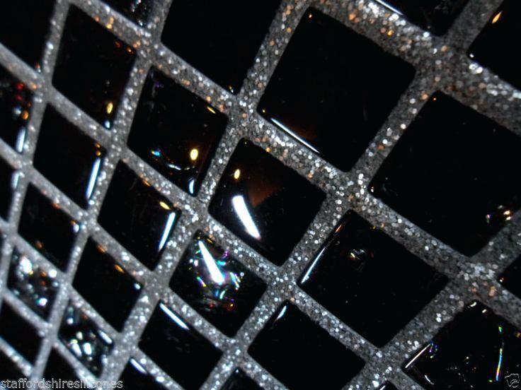 black sparkle floor tiles grout glitter wall floor glass mosaic cheap tiles silver or gold additive black sparkle floor tiles uk