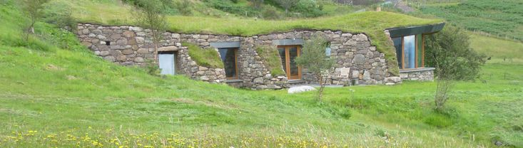 Les Brochs de Coigach, Écosse | 27 maisons souterraines à couper le souffle