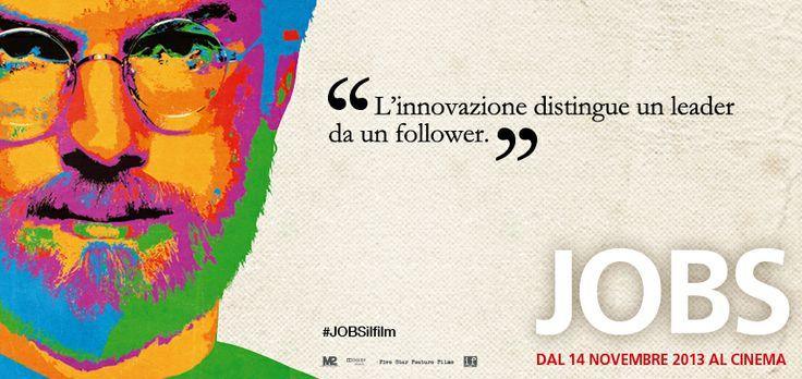 E voi, siete dei precursori o vi trovate spesso a dover rincorrere? #JOBSilfilm è AL #CINEMA!