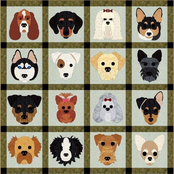 8 Pet Quilt Patterns to Celebrate the Love of Your 4-Legged Friend