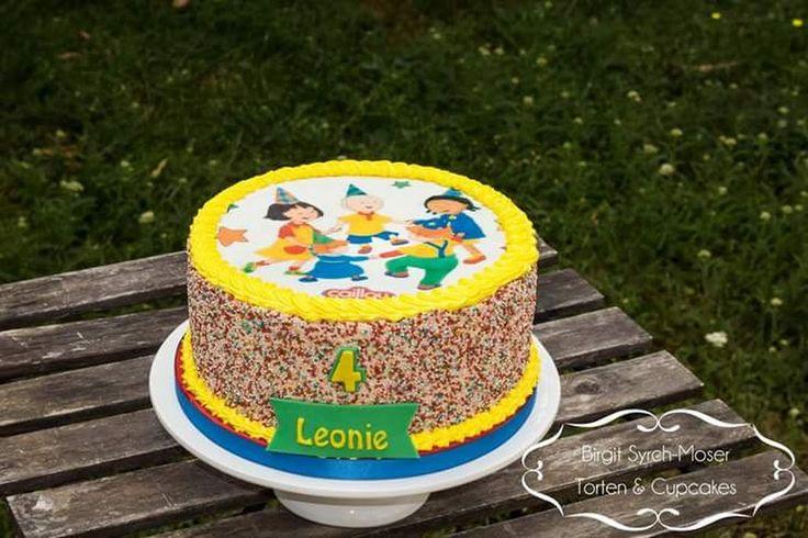 Birthday Cake, Caillou - Birgit Syrch-Moser - Google+