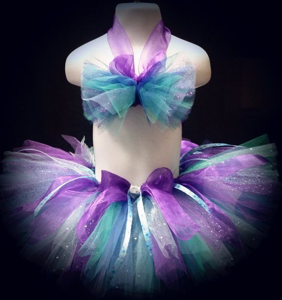First birthday little mermaid tutu little mermaid by TutusOfHeaven