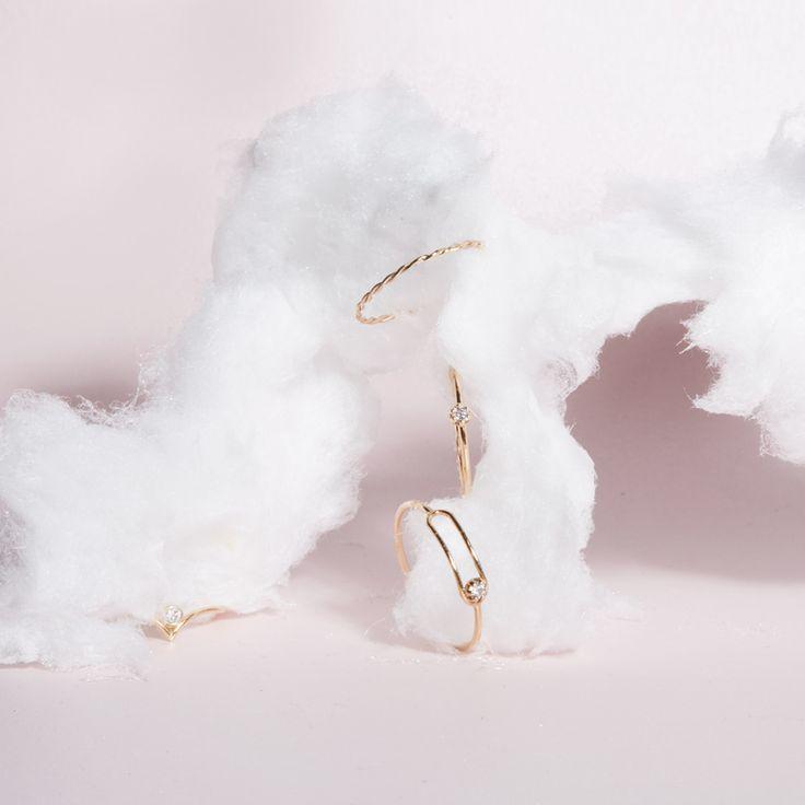 Rings by SARAH & SEBASTIAN jewellery
