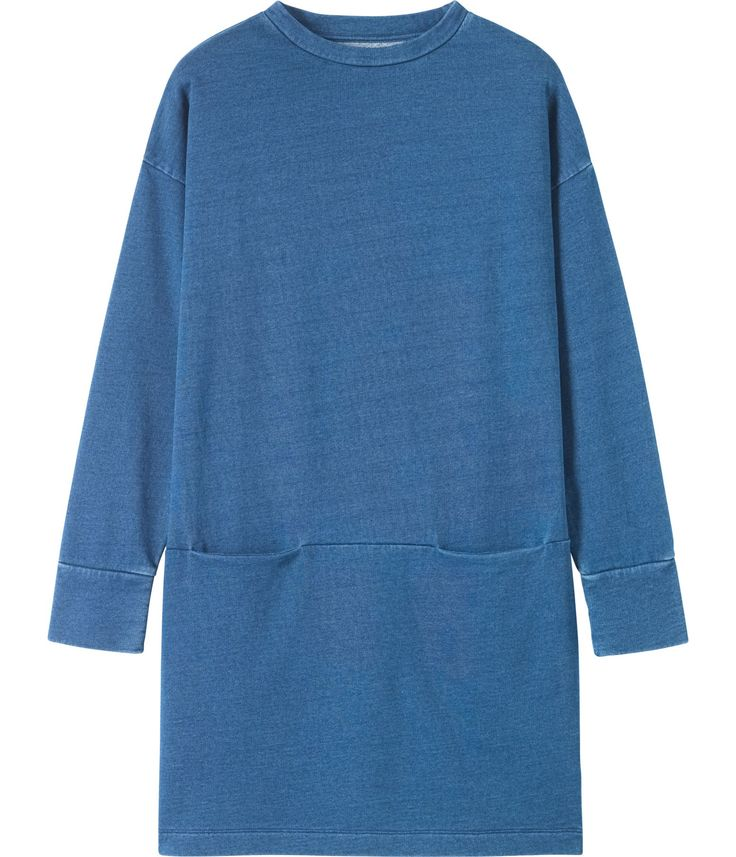 Women's Indigo Cotton Izu Dress | Toast £95