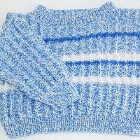 Dětský pletený svetřík, pruhovaný, handmade, baby sweater, knitting.