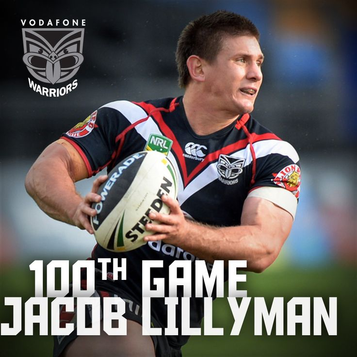 Rd 26, 2013 | Congratulations to Jacob Lillyman for playing his 100th game for the Vodafone Warriors, bringing up the milestone against the St George Dragons last Saturday. He is the 22nd player to appear in 100 NRL matches for the Vodafone Warriors.
