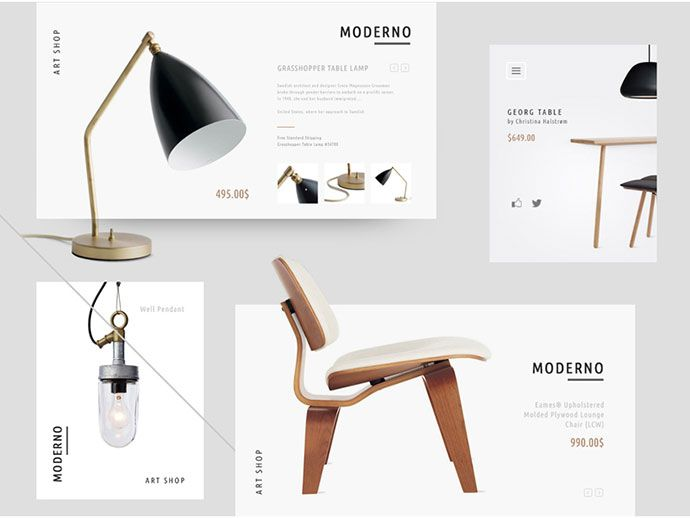 40 Attractive E-Commerce Product Page & Card UI Designs   Web & Graphic Design   Bashooka