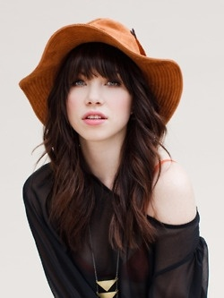 @ Jamie...this is Carly Rae Jepson...Morgan says you look just like her:)