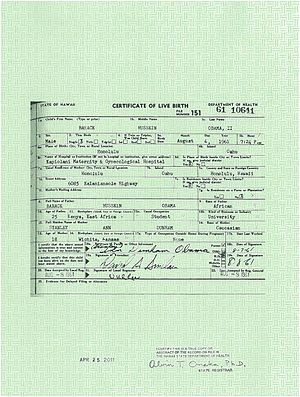 BREAKING NEWS – Hawaii state registrar Alvin Onaka has publicly certified to AZ SOS Ken Bennett that Barack Obama's HI birth certificate is legally non-valid and the White House image is a forgery.   ...pray this is true