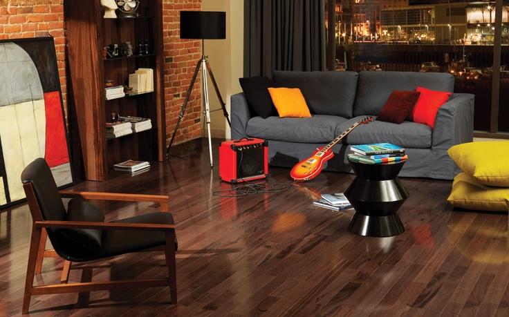 Tigerwood with a Dark Stain | Mercier Hardwood Flooring | Pinterest | Wood  flooring and Woods - Tigerwood With A Dark Stain Mercier Hardwood Flooring