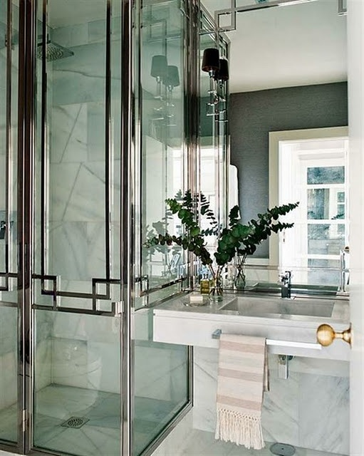 nice shower detail