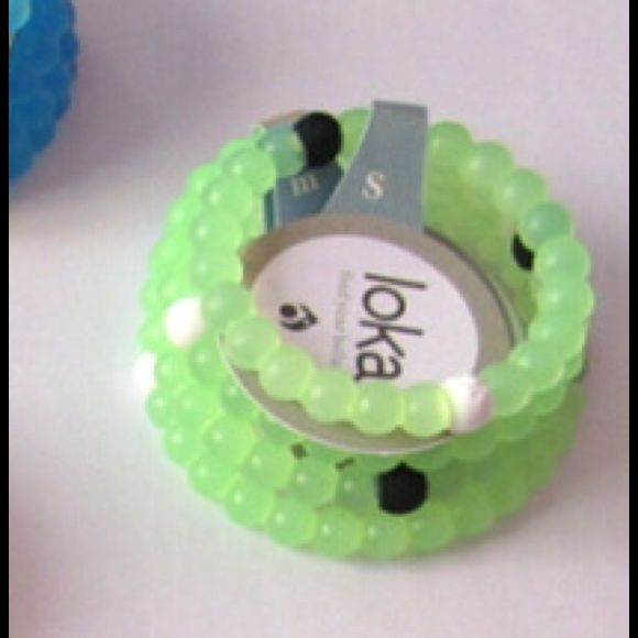 NEW GREEN LOKAI BRACELET available in small n medium only a few available Lokai Jewelry Bracelets