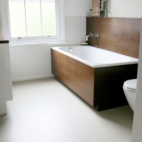 THE COLOUR FLOORING COMPANY Pebble Grey Vinyl Flooring - £28 per sq m