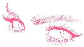 Image result for winking  eye