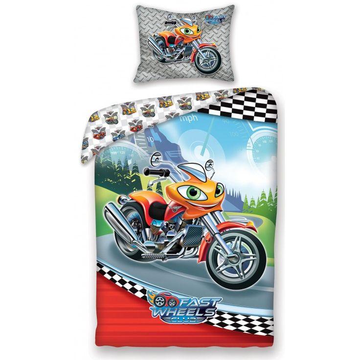 Pościel licencyjna Fast Wheel Club FWC-0005BL Materiał: 100% bawełna. Rozmiar: 140x200cm + 70x90cm. Dostępna od marca 2017 www.halantex.pl