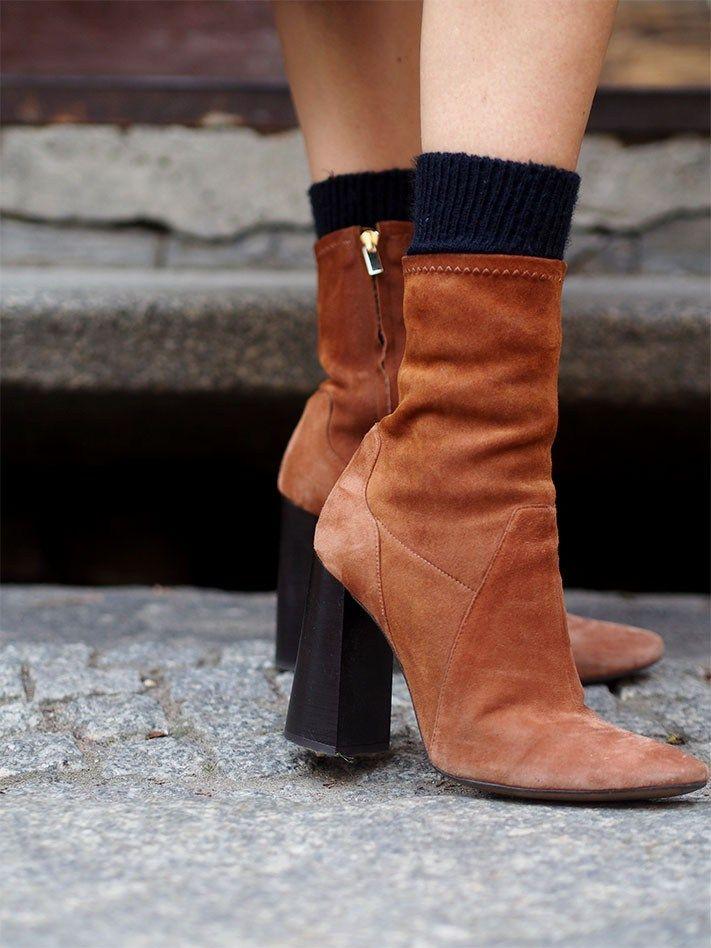 zara suede retro boots new season fall trends autumn musthave socks in boots http://helloshopping.de/schwarze-wollmantel-damen/