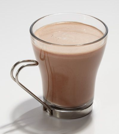 Protein Power Hot Chocolate: Add chocolate, vanilla or unflavored protein to hot chocolate that has cooled down slightly.
