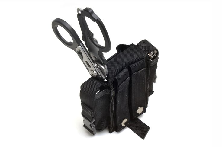 The Skinth Trail Blazer sheath pouch available with molle webbing