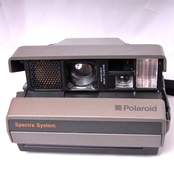 Polaroid Spectra System Instant Film Camera Spectra by Findworks